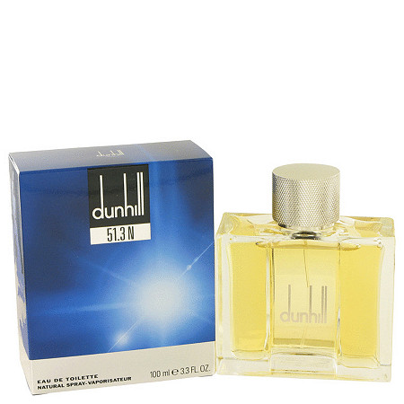 Dunhill 51.3N by Alfred Dunhill for Men Eau De Toilette Spray 3.3 oz