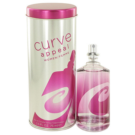 Curve Appeal by Liz Claiborne for Women Eau De Toilette Spray 2.5 oz