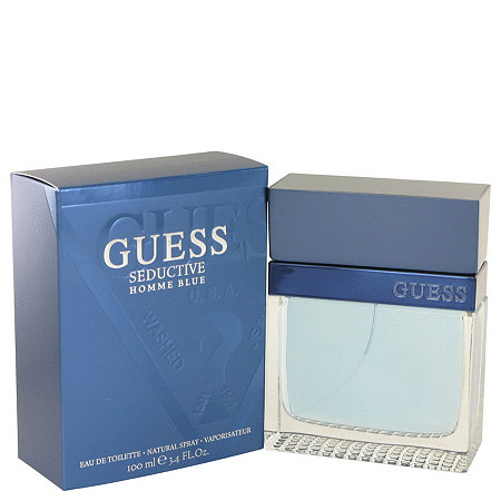 Guess Seductive Homme Blue by Guess for Men Eau De Toilette Spray 3.4 oz