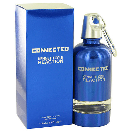 Kenneth Cole Reaction Connected by Kenneth Cole for Men Eau De Toilette Spray 4.2 oz