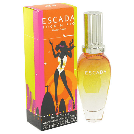 Escada Rockin'Rio by Escada for Women Eau De Toilette Spray 1 oz