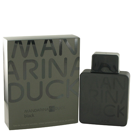Mandarina Duck Black by Mandarina Duck for Men Eau De Toilette Spray 3.4 oz