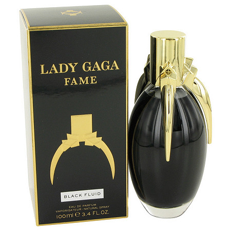 Lady Gaga Fame Black Fluid by Lady Gaga for Women Eau De Parfum Spray 3.4 oz