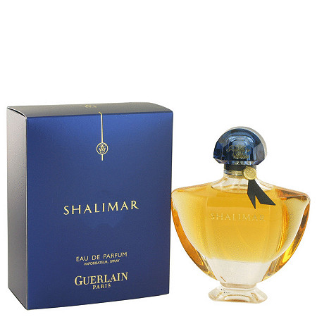 SHALIMAR by Guerlain for Women Eau De Parfum Spray 3 oz
