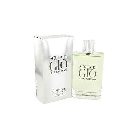 Acqua Di Gio Essenza by Giorgio Armani for Men Eau De Parfum Spray 6 oz