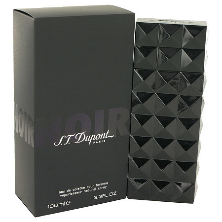 St Dupont Noir by St Dupont for Men Eau De Toilette Spray 3.3 oz