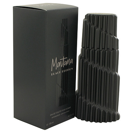 Montana Black Edition by Montana for Men Eau De Toilette Spray 4.2 oz