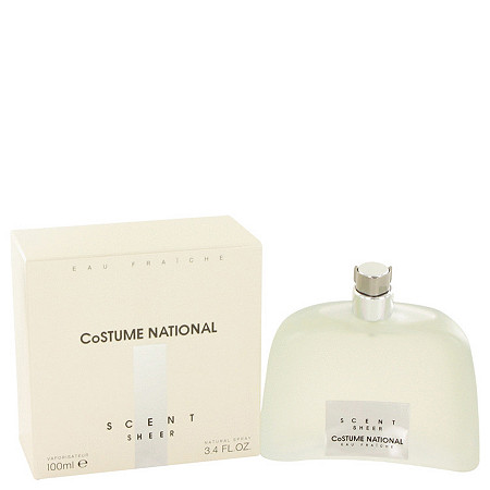 Costume National Scent Sheer by Costume National for Women Eau Fraiche Spray 3.4 oz