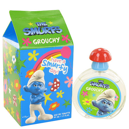 The Smurfs by Smurfs for Men Grouchy Eau De Toilette Spray 1.7 oz
