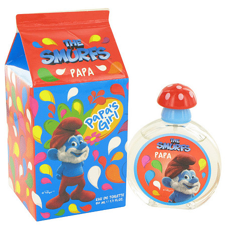 The Smurfs by Smurfs for Women Papa's Girl Eau De Toilette Spray 1.7 oz
