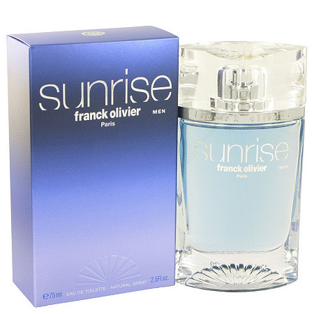 Sunrise Men by Franck Olivier for Men Eau De Toilette Spray 2.5 oz