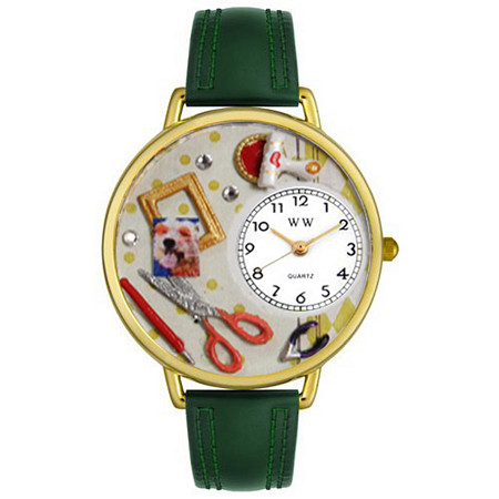 Personalized Scrapbook Watch in gold or silver case
