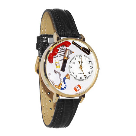 Personalized Doctor Watch in gold or silver case