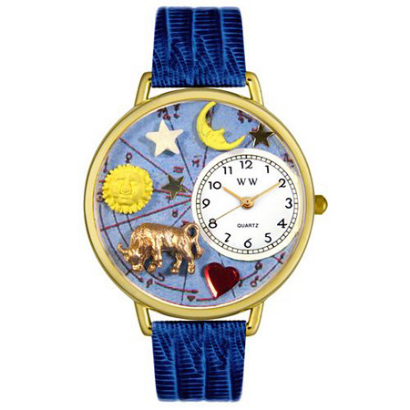 Personalized Taurus Watch in gold or silver case