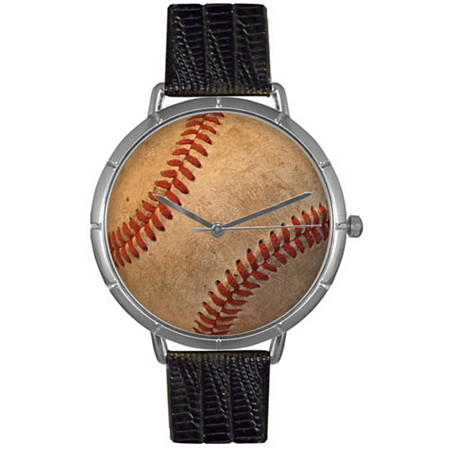 Baseball Lover Photo Watch Unisex Silver Style
