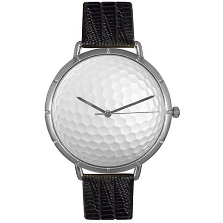 Golf Lover Photo  Watch Unisex Silver Style