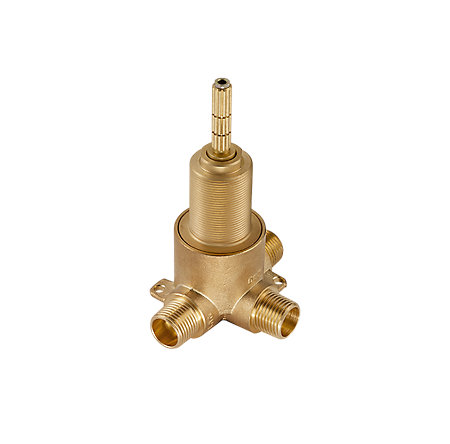 Unfinished 2 Port 3Way Diverter Valve - 015-4WDX - 1