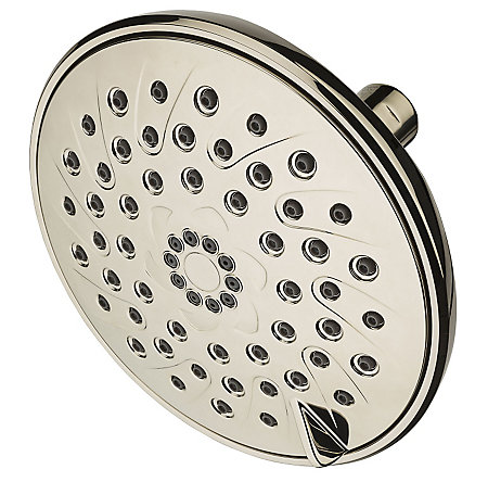 Polished Nickel Arterra 3-Function Showerhead - 015-DE1D - 1