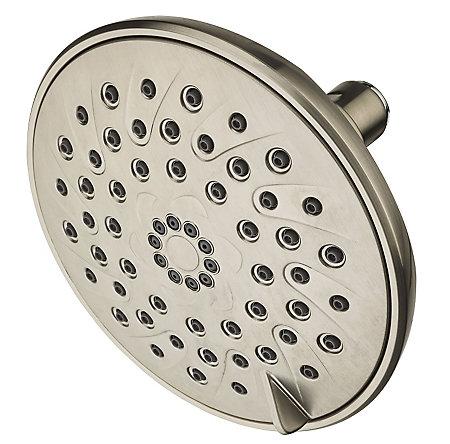 Brushed Nickel Arterra 3-Function Showerhead - 015-DE1K - 1