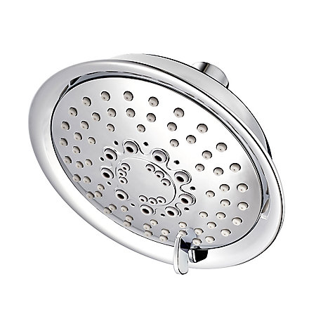 Polished Chrome Universal Trim 5-Function Showerhead - 015-WS-TD2C - 1