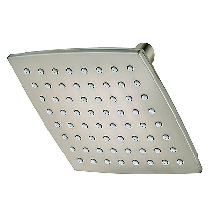 Brushed Nickel Venturi Showerhead - 015-WS-VNKK - 1