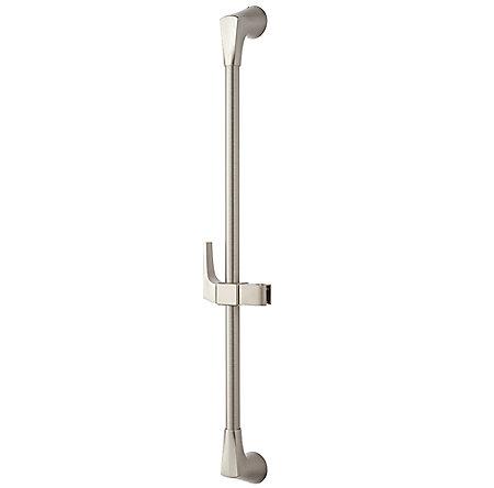 Brushed Nickel Kelen Slide Bar - 016-16MK - 1