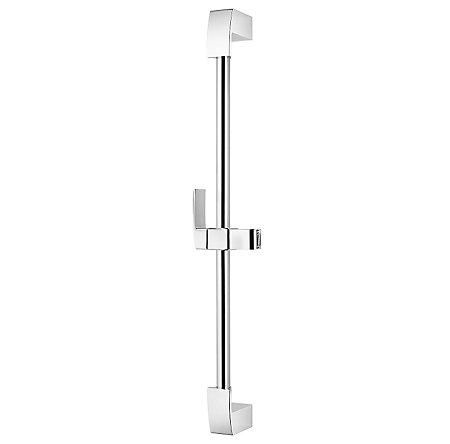 Polished Chrome Kenzo Slide Bar  - 016-16DFC - 1