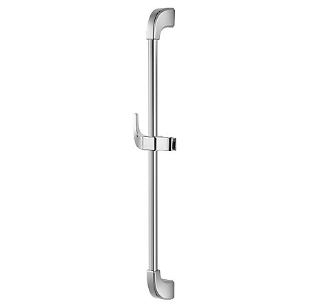 Polished Chrome Adjustable Slide Bar - 016-16FC - 1