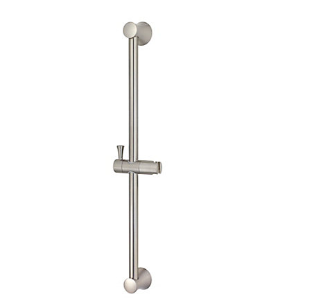 Brushed Nickel Iyla Slide bar only - 016-16TK - 1