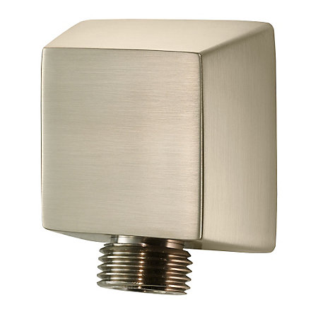 Brushed Nickel Drop Elbow - 016-17FK - 1