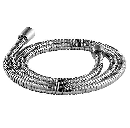 polished chrome hoses - 016-180c - 1