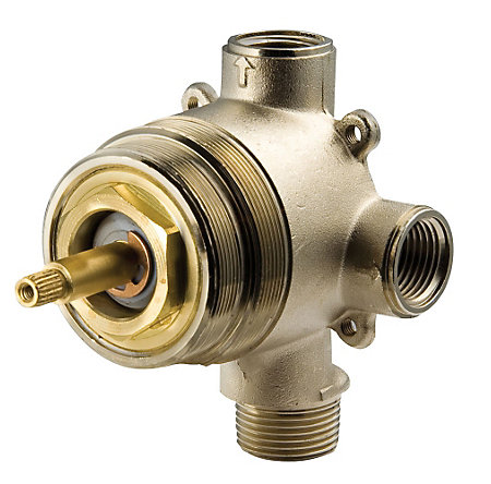 Unfinished Diverter, Thermostatic Valves - 016-600A - 1
