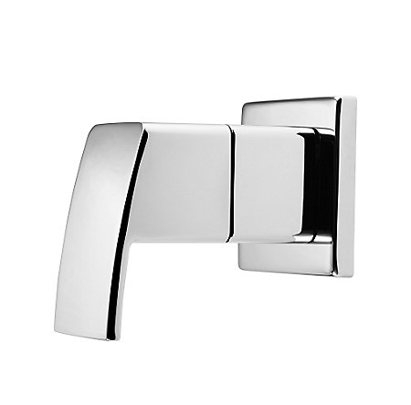 Polished Chrome Kenzo Diverter Trim - 016-DF0C - 1