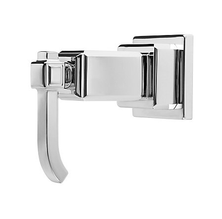 Polished Chrome Carnegie Diverter Trim - 016-WE0C - 1