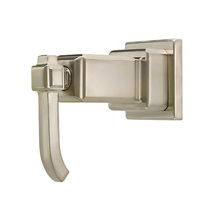 Brushed Nickel Carnegie Diverter Trim - 016-WE0K - 1