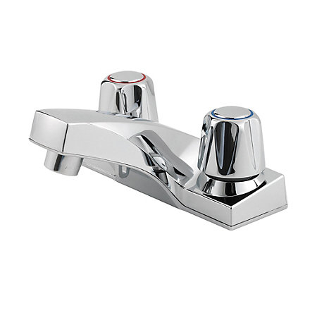 Polished Chrome Pfirst Series Centerset Bath Faucet - 143-6000 - 1