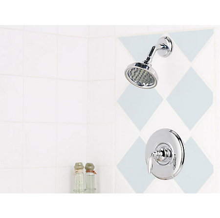 Polished Chrome Avalon Shower Only - 808-5CBC - 3