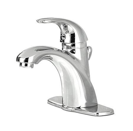 Polished Chrome Parisa Single Control, Centerset Bath Faucet - 8A2-VC00 - 1