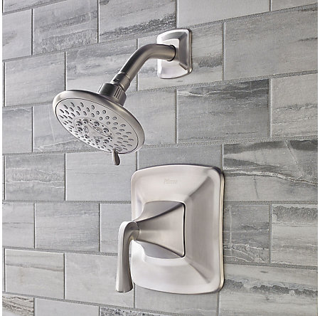 Brushed Nickel Selia 1-Handle Shower Only Faucet - 8P5-WSSLSK - 2
