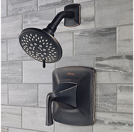 Tuscan Bronze Selia 1-Handle Shower Only Faucet  - 8P5-WSSLSY - 2