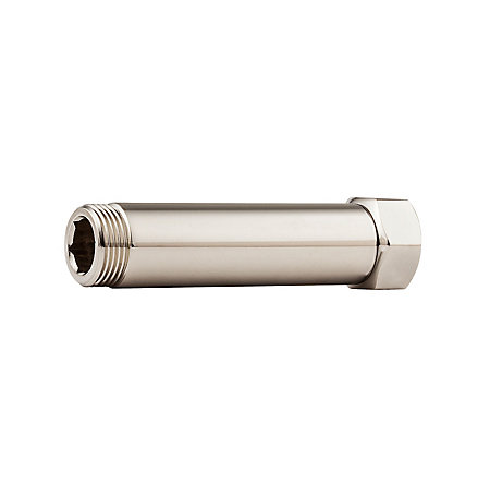 "Polished Nickel 4"" Extension for Traditional Free Standing Tub Filler - 910062D - 1"