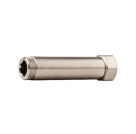 """Brushed Nickel 4"""" Extension for Traditional Free Standing Tub Filler - 910062J - 1"""