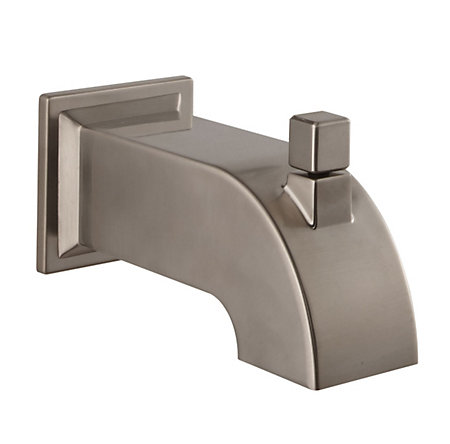 Brushed Nickel Tub Spout - 920-102J - 1