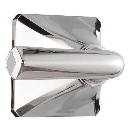polished chrome park avenue tub and shower handle - 940-164a - 1