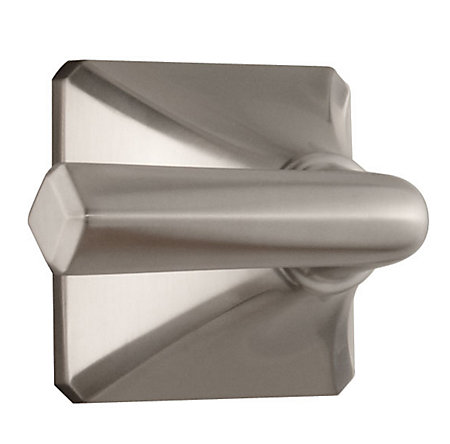 Brushed Nickel Park Avenue Tub and Shower Handle - 940-164J - 1