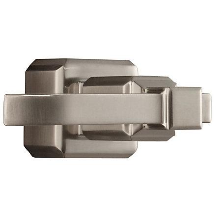 Brushed Nickel Carnegie Tub and Shower Handle - 940-165J - 1