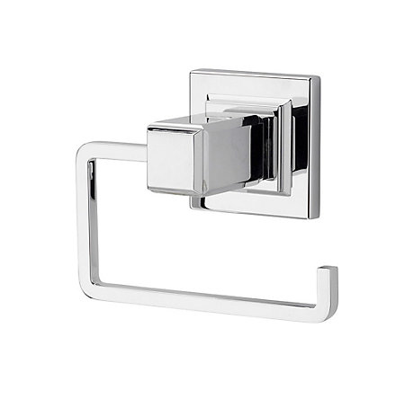 Polished Chrome Carnegie Tissue Holder - BPH-WE1C - 1