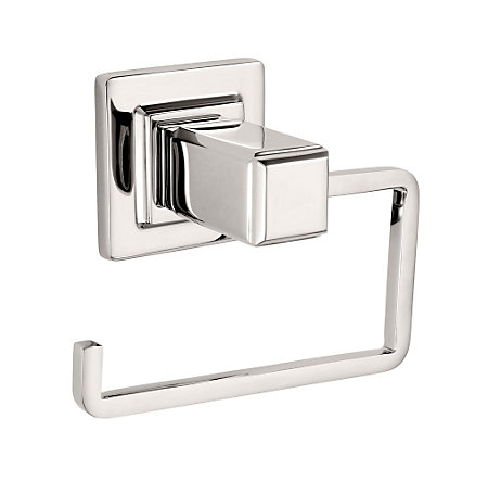 Polished Nickel Carnegie Tissue Holder - BPH-WE1D - 1