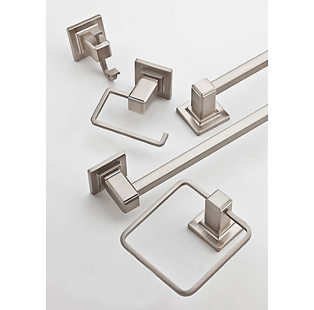 Brushed Nickel Carnegie Tissue Holder - BPH-WE1K - 2
