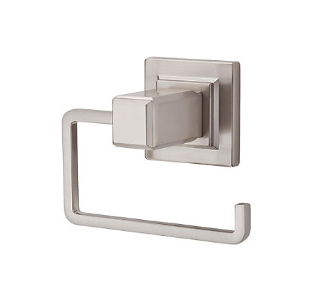 brushed nickel carnegie tissue holder - bph-we1k - 1